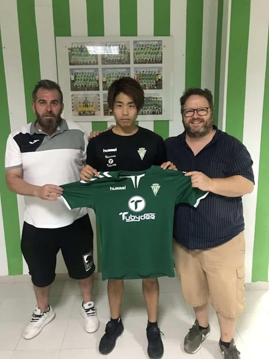 Takuya Otaka jugador herencia - Takuya Otaka nuevo fichaje del Herencia C.F.