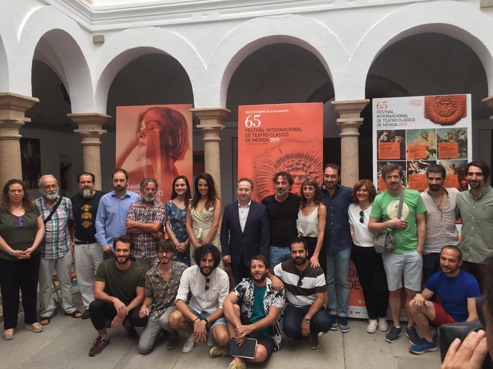 Tito Andrónico Festival de Mérida - Rafael Garrigós diseña el vestuario para versión de Tito Andrónico que clausura el 65 Festival Internacional de Teatro Clásico de Mérida