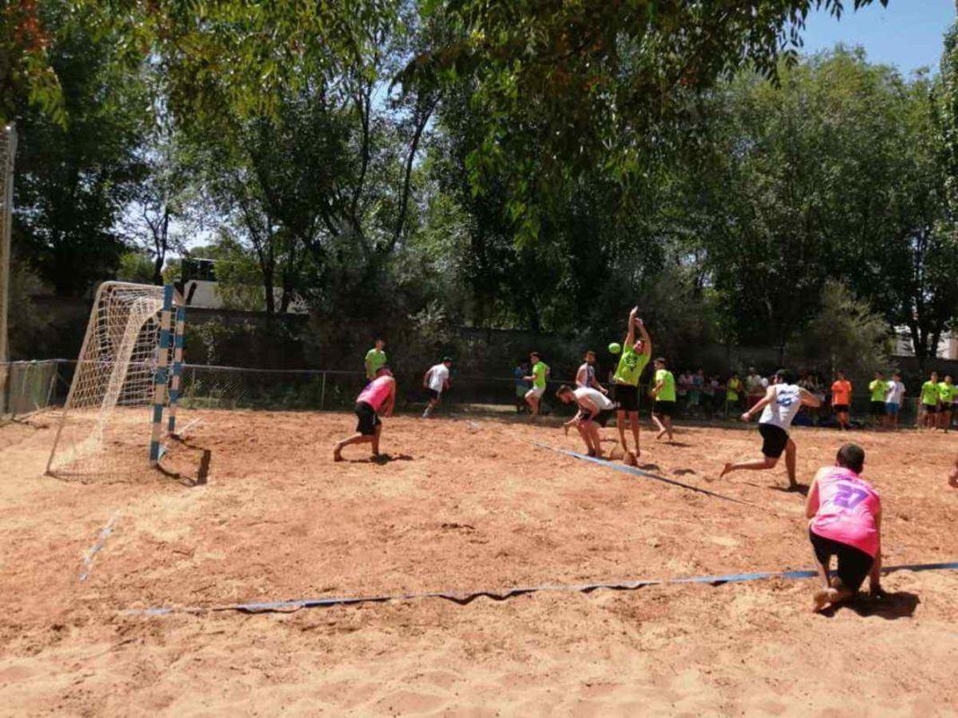 Finalizado el V Torneo de Balonmano Playa en Herencia 46