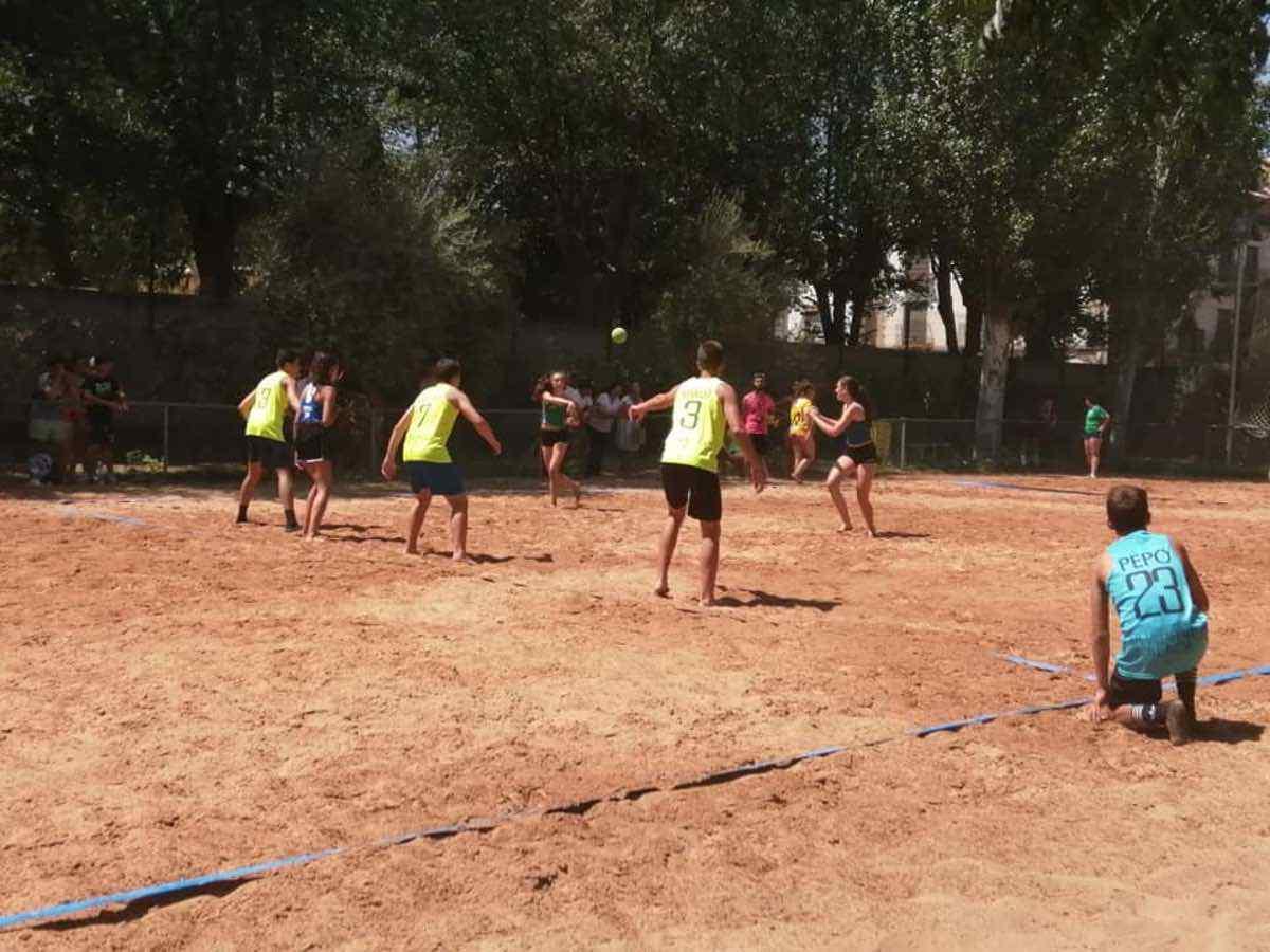 Finalizado el V Torneo de Balonmano Playa en Herencia 42