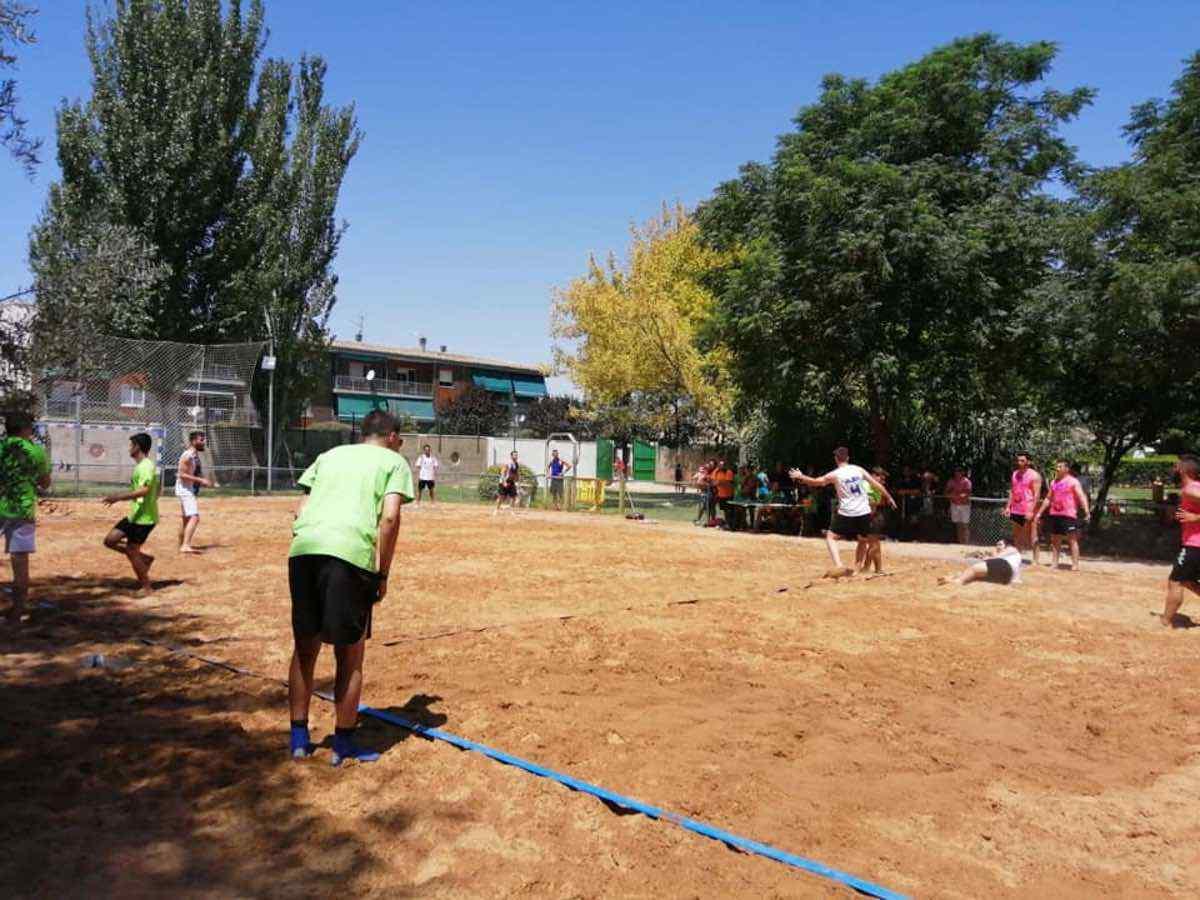 Finalizado el V Torneo de Balonmano Playa en Herencia 37