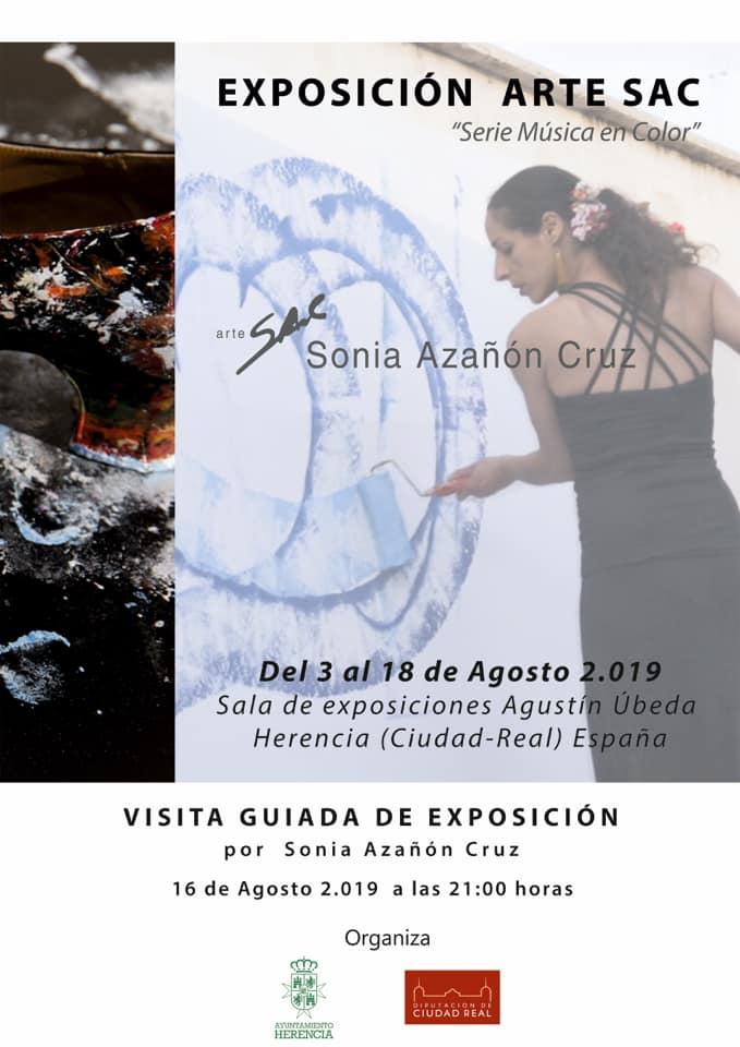 Visita Guiada exposici%C3%B3n Arte SAC - Sonia Azañón Cruz presenta su exposición Arte SAC Serie Música en Color