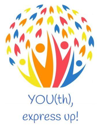 Youth Express Up Erasmus Aktive Kosmos logo 354x435 - Jóvenes de cinco países se dan cita en Herencia dentro de un programa Erasmus+