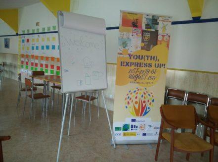 Youth Express Up Erasmus Aktive Kosmos4 441x327 - Jóvenes de cinco países se dan cita en Herencia dentro de un programa Erasmus+