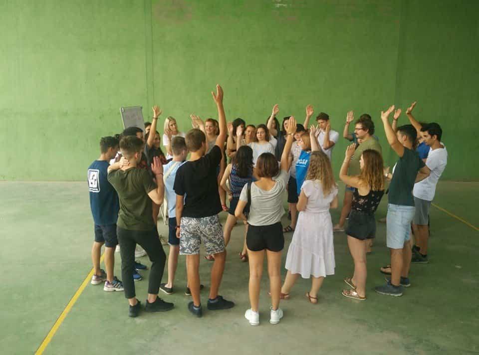 Jóvenes de cinco países se dan cita en Herencia dentro de un programa Erasmus+ 3