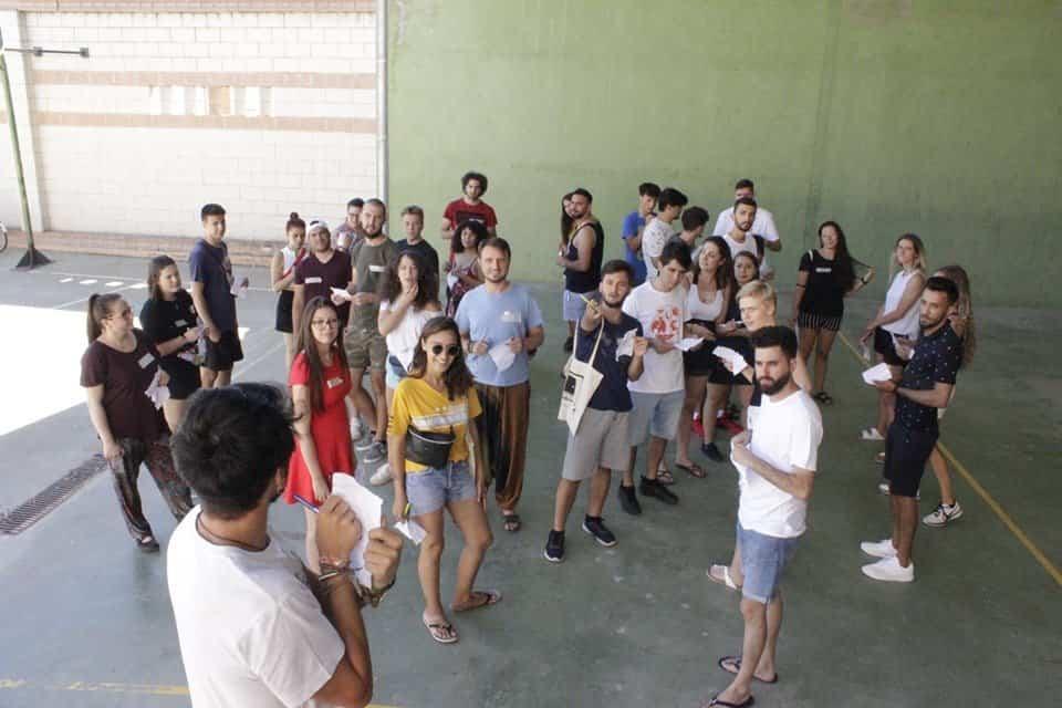 Youth Opens Doors Erasmus Herencia - Jóvenes europeos en Herencia abren puertas por la inclusión de refugiados