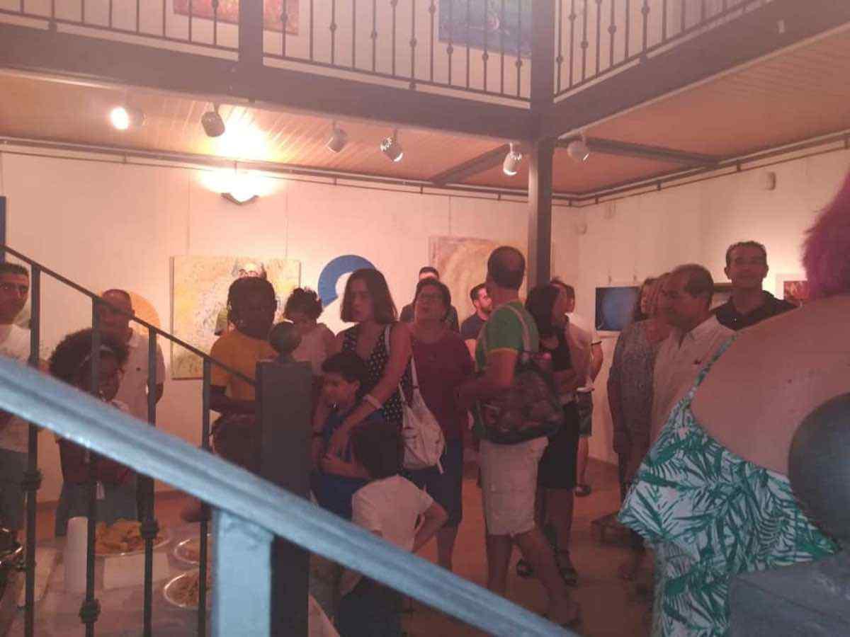 Inauguración de la Exposición Arte de Sonia Azañón Cruz 13