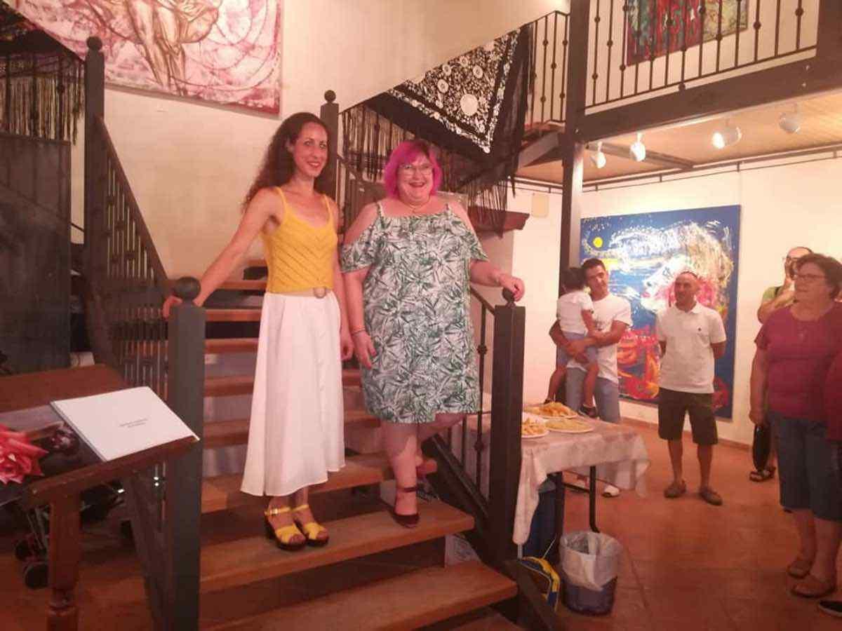 exposicion arte sonia azanon herencia 4 - Inauguración de la Exposición Arte de Sonia Azañón Cruz