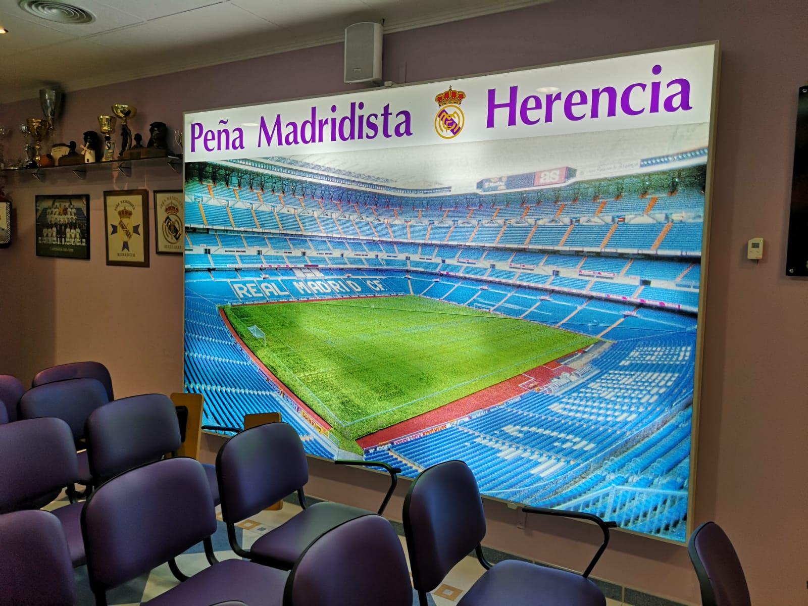 pe%C3%B1a madridista Herencia - La peña Madridista Herencia celebra su 25 aniversario con una gran cena