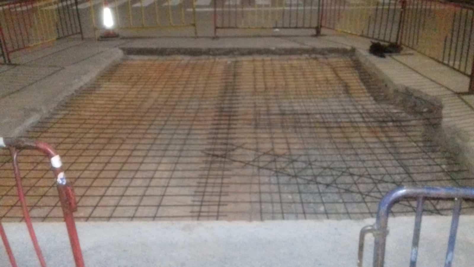 reparaciones poligono industrial herencia hormigon armado - Actuación de reparación de firme en el Polígono Industrial de Herencia