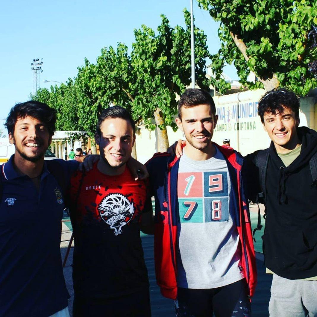 trit on team herencia 1068x1068 - Herencianos presentes en la 1ª edición del Triatlón de Campo de Criptana