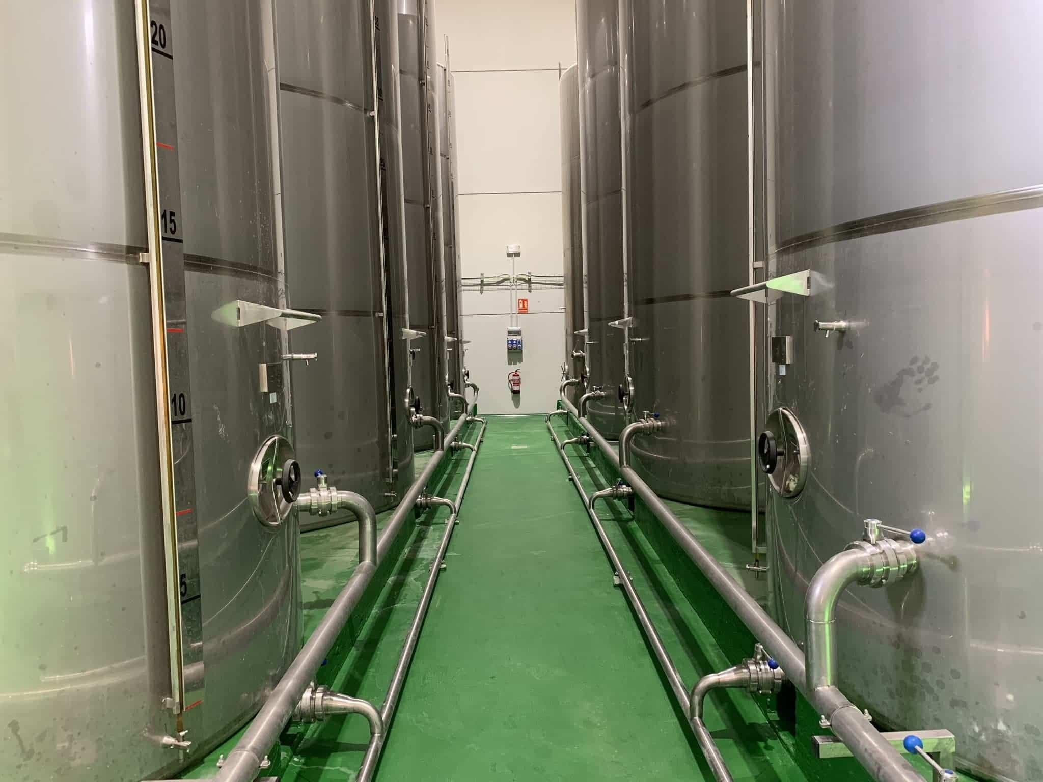 visita almazarera la encarnacion herencia 8 - Nuevas instalaciones de la Cooperativa Almazarera La Encarnación en Herencia