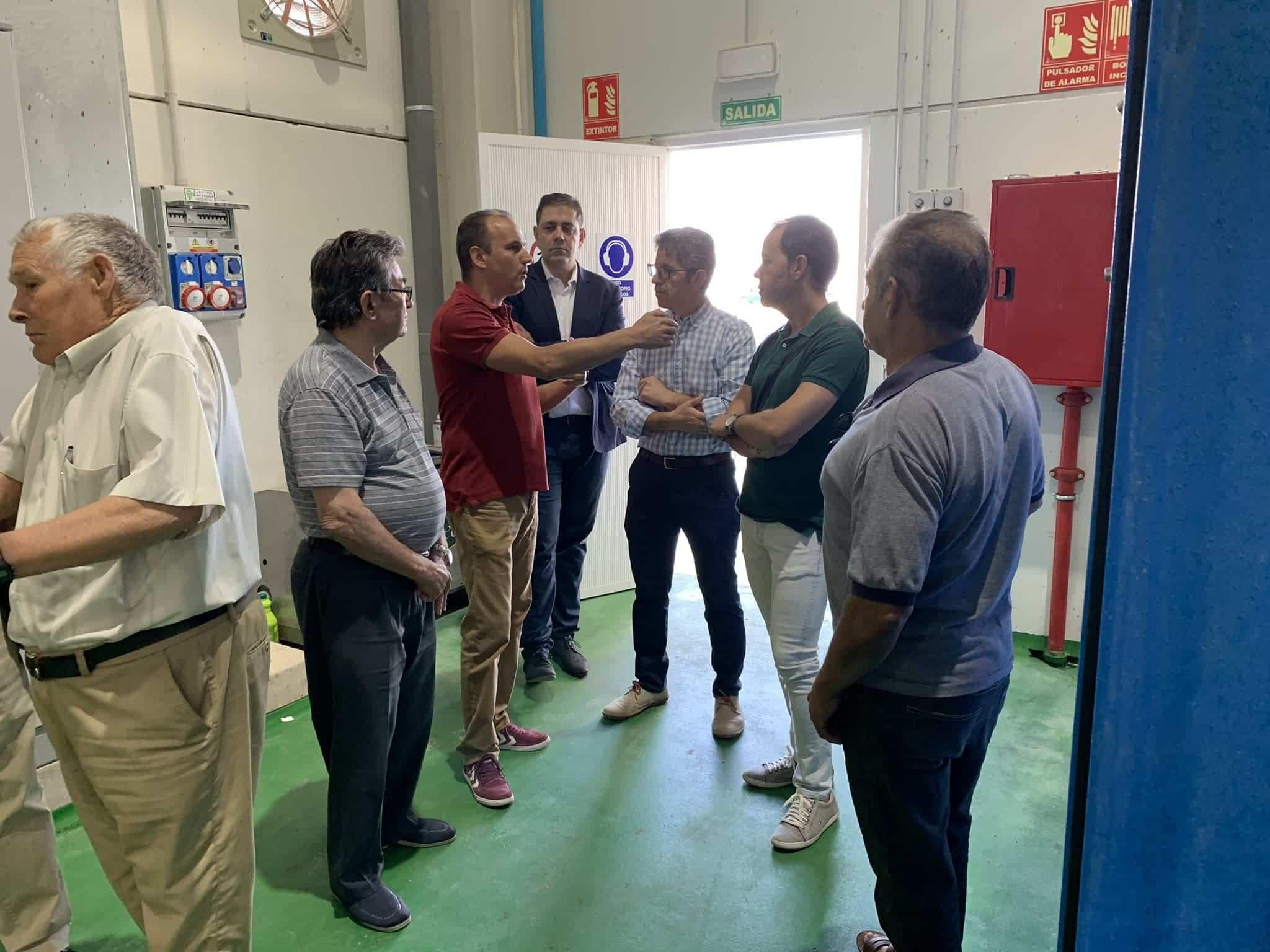 visita almazarera la encarnacion herencia - Nuevas instalaciones de la Cooperativa Almazarera La Encarnación en Herencia