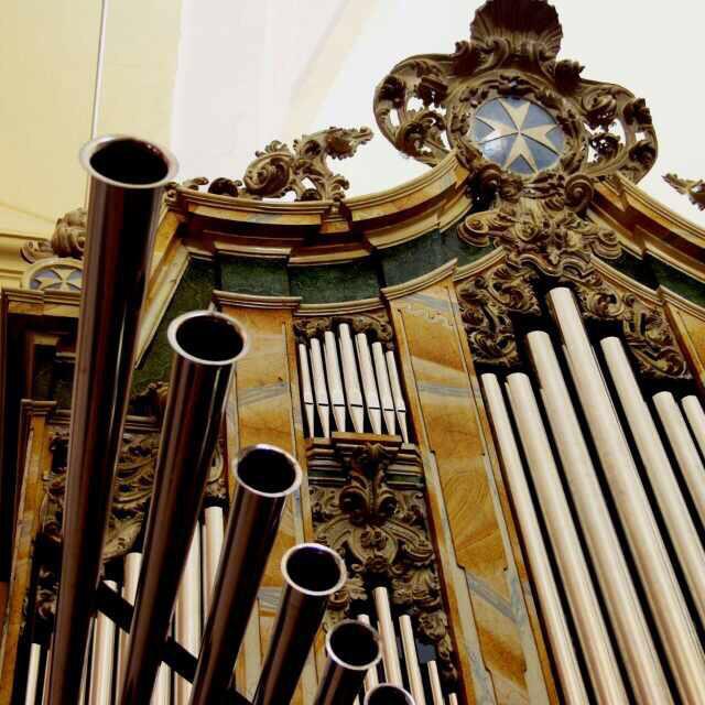 órgano barroco de herencia - Abierta la matrícula para la quinta Escuela de Organistas parroquial