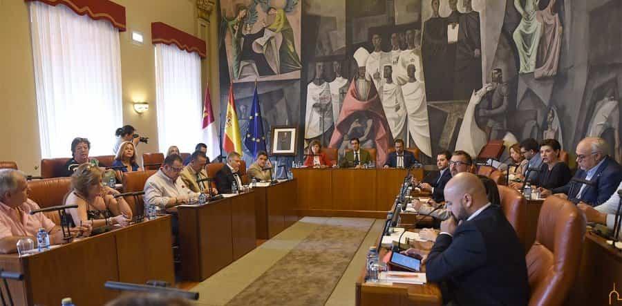 Diputación provincial aprueba el cambio de itinerario de la travesía de la CR-1341 a su paso por la localidad de Herencia 3
