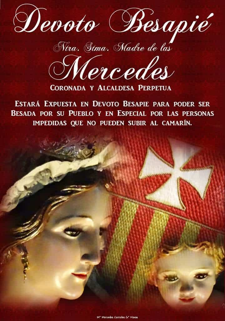 Besapie de la Virgen de las Mercedes 1 - Besapié a la Virgen de las Mercedes