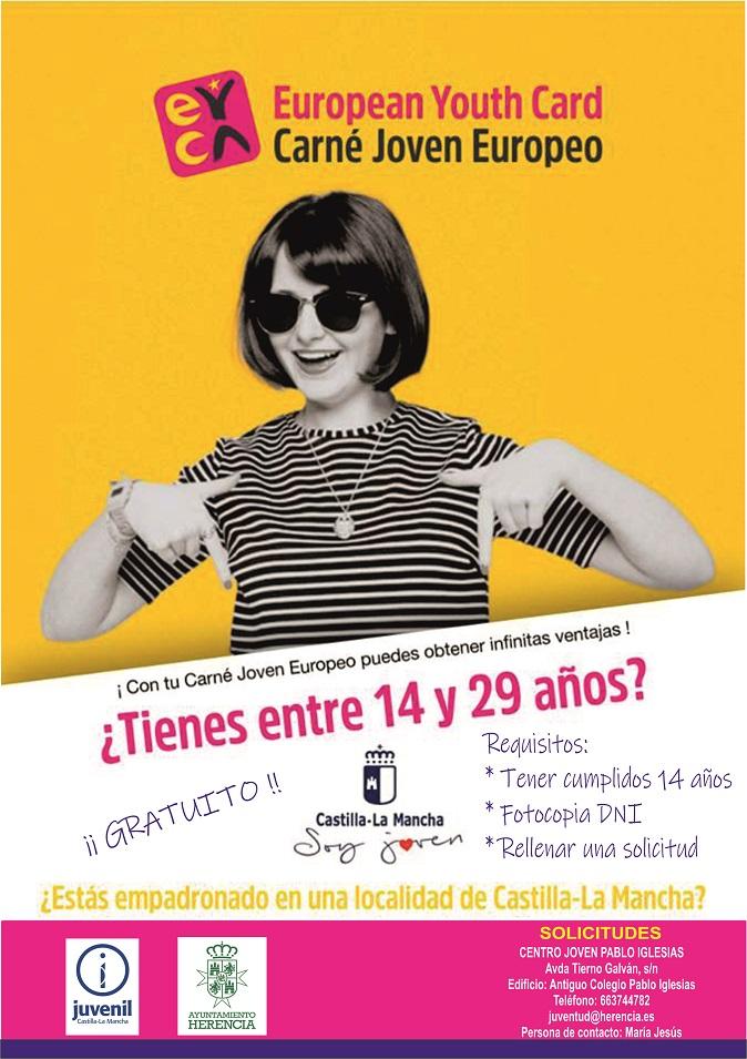 Campaña carné joven octubre - Campaña para el fomento del Carné Joven Europeo