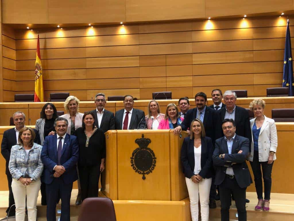 """Grupo Territorial """"Socialistas de Castilla La Mancha"""" en el Senado - José Manuel Bolaños formará en el grupo territorial """"Socialistas de Castilla-La Mancha"""" en el Senado"""