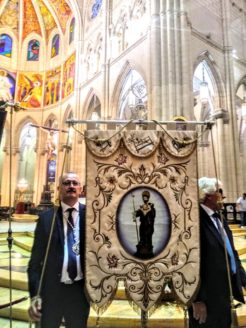 Las hermandades de San José acompaña a la Real Esclavitud de Santa María la Real de la Almudena en la celebración de su festividad1