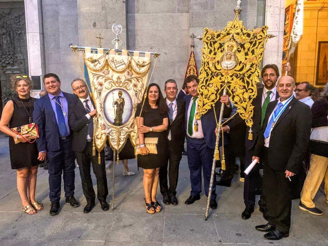 Las hermandades de San José y del Santo acompañan a la Real Esclavitud de Santa María la Real de la Almudena 10