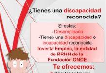 Sesión informativa de empleo y formación para personas con discapacidad o incapacidad reconocida