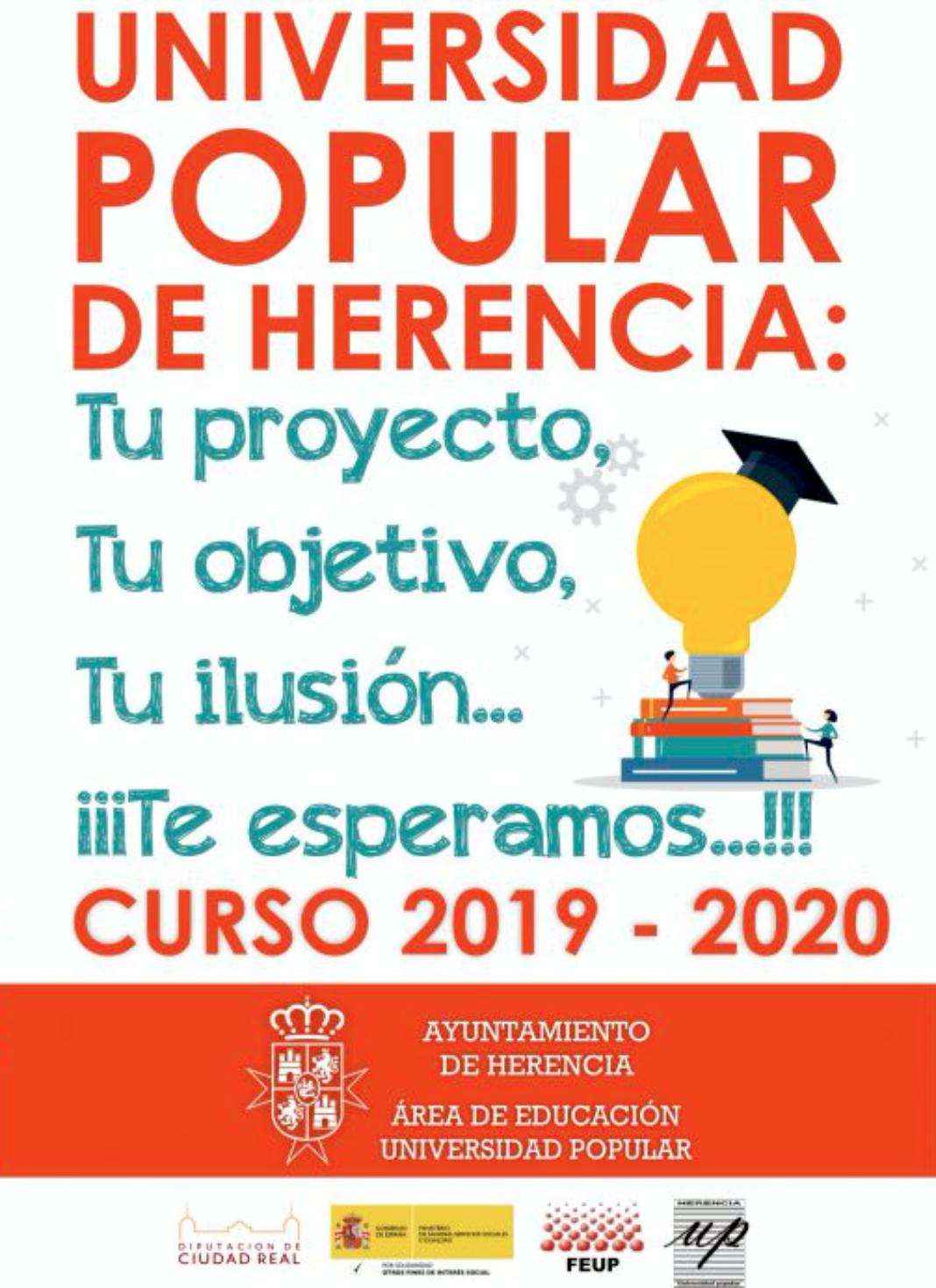 Universidad Popular de Herencia 1068x1469 - La Universidad Popular Herencia decenas de cursos, talleres y actividades