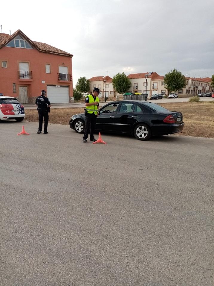 campaña seguridad policía local - Campaña Especial sobre el Cinturón de Seguridad y los Sistemas de Retención Infantil