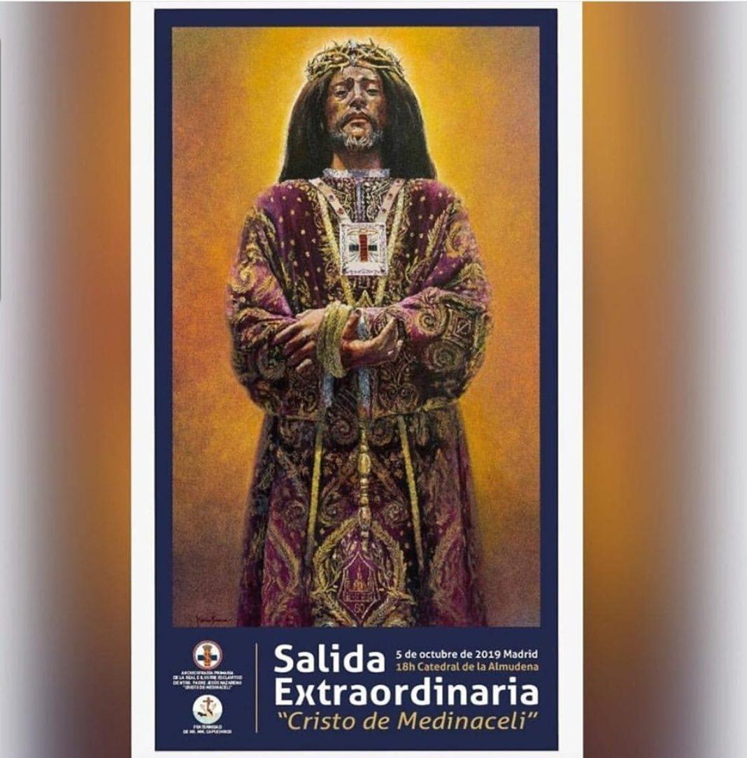 cartel extraordinario Medinaceli Madrid 1068x1084 - La hermandad de Medinaceli de Herencia estará presente en la salida extraordinaria de Medinaceli de Madrid