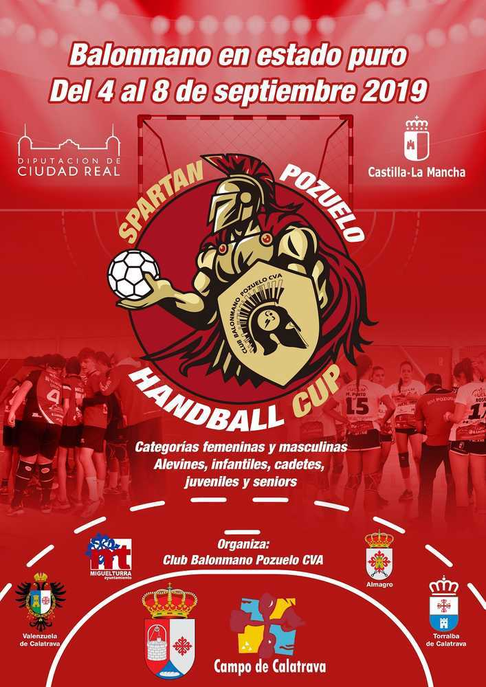 cartel 10 - El BM Herencia participa en el Spartan Pozuelo Handball Cup