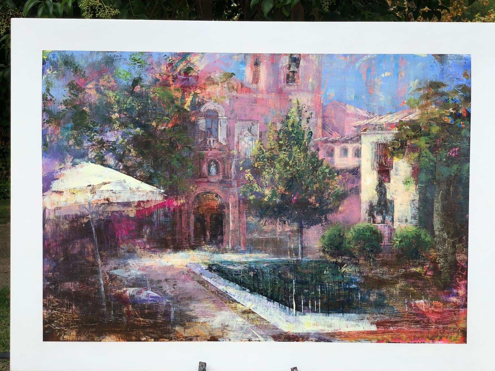 """certamen pintura rapida 2019 herencia 11 - Celebrado el XIII Certamen Nacional de Pintura Rápida """"Villa de Herencia"""""""