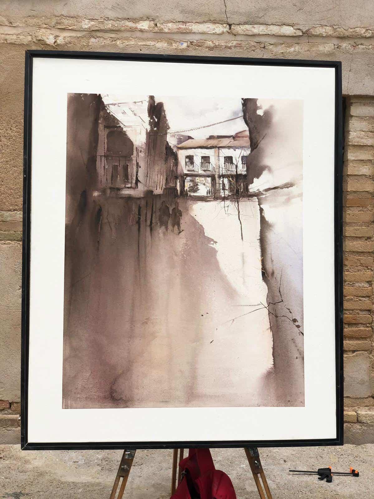 """certamen pintura rapida 2019 herencia 13 - Celebrado el XIII Certamen Nacional de Pintura Rápida """"Villa de Herencia"""""""