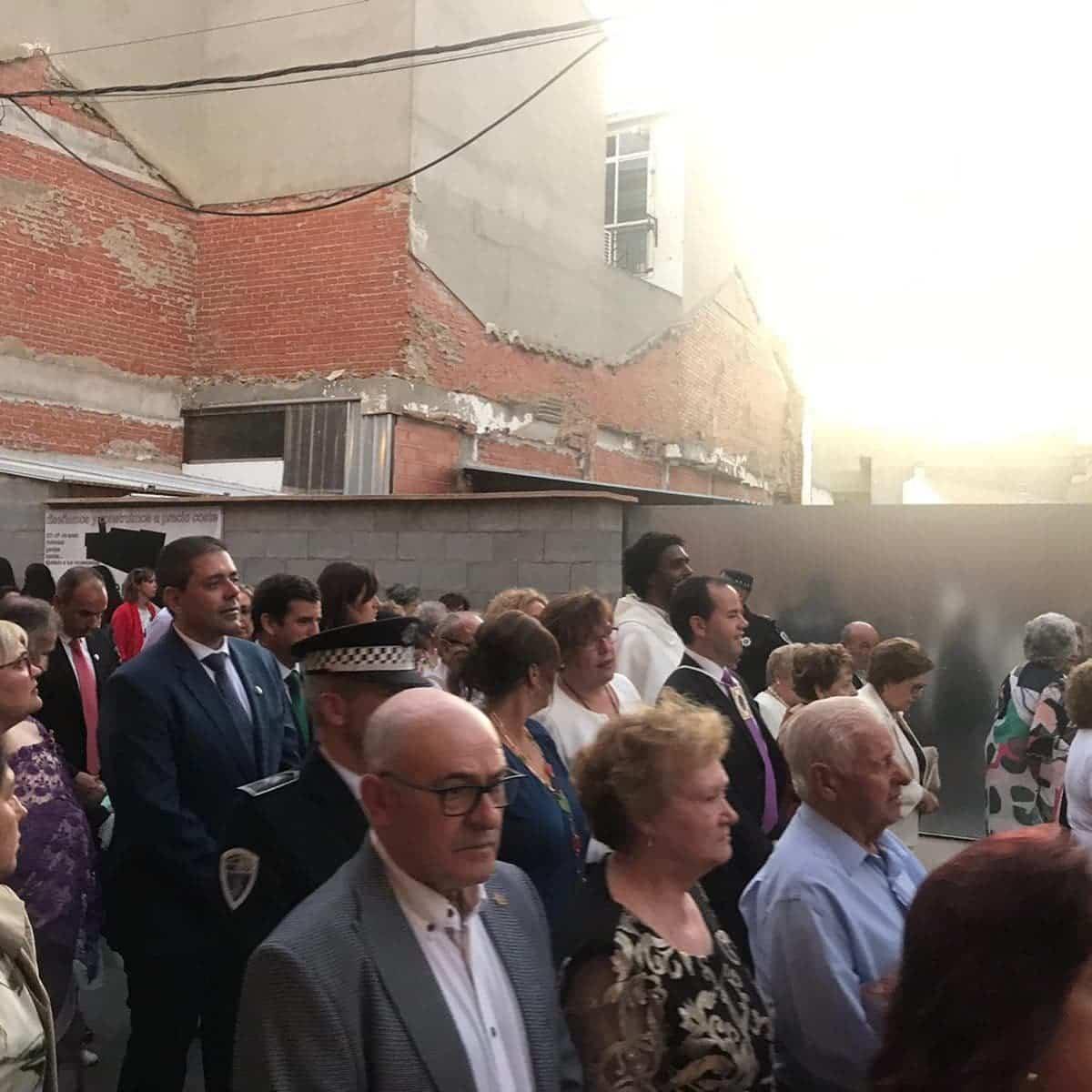 magna procesion feria fiestas 2019 herencia 1 - Magna procesión de nuestra Santísima Madre cierra la Feria y Fiestas herenciana