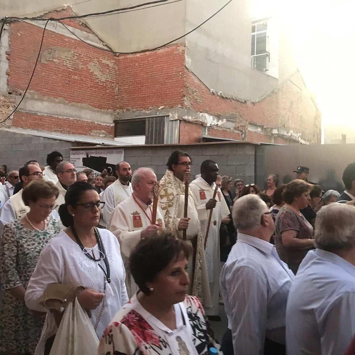 magna procesion feria fiestas 2019 herencia 2 - Magna procesión de nuestra Santísima Madre cierra la Feria y Fiestas herenciana
