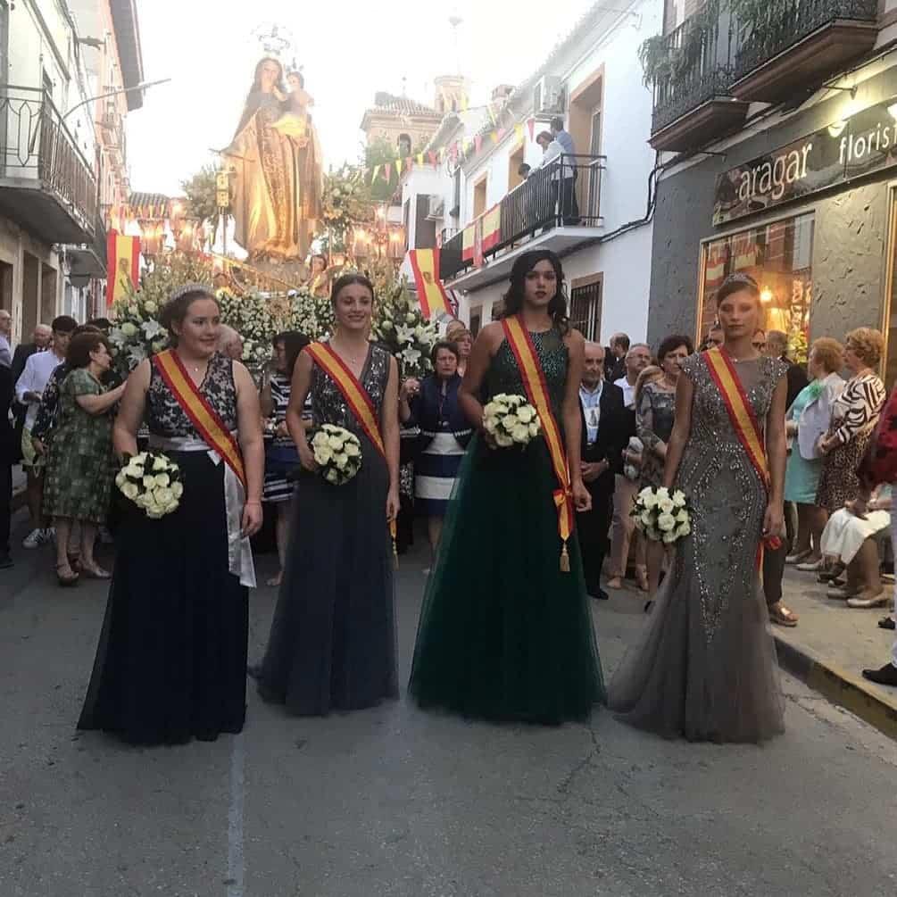 magna procesion feria fiestas 2019 herencia 3 - Magna procesión de nuestra Santísima Madre cierra la Feria y Fiestas herenciana