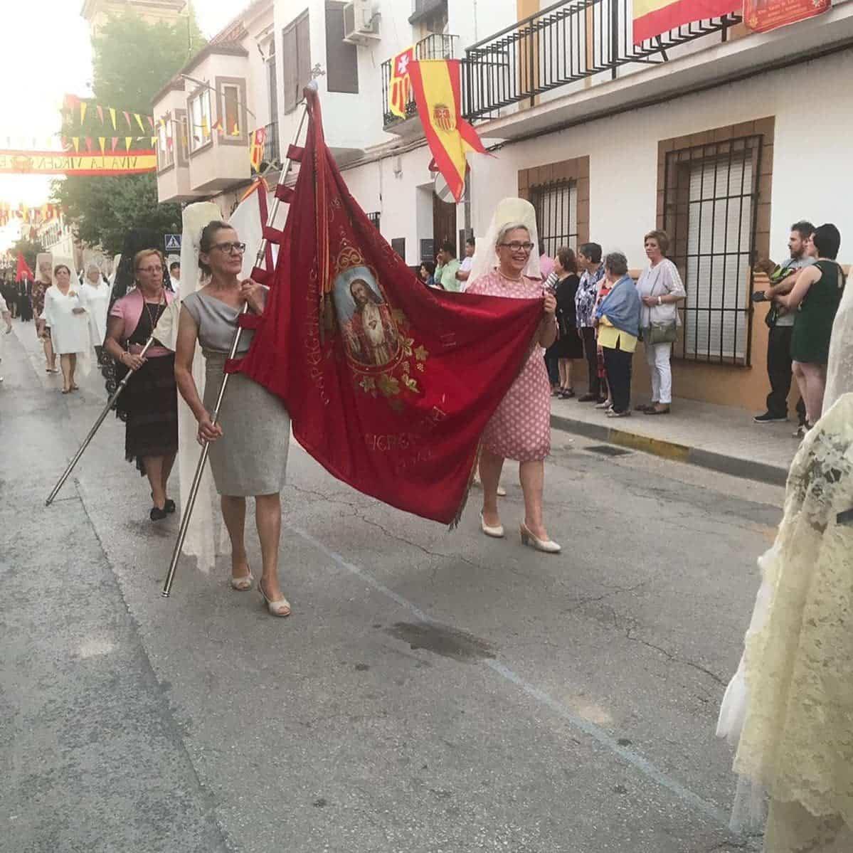 magna procesion feria fiestas 2019 herencia 5 - Magna procesión de nuestra Santísima Madre cierra la Feria y Fiestas herenciana