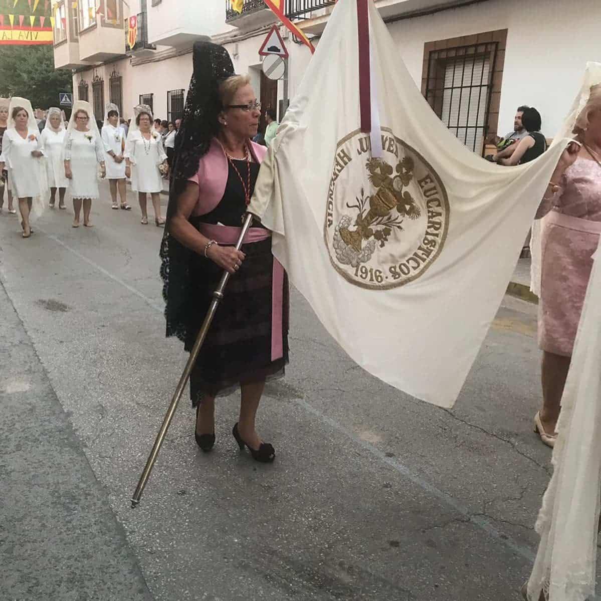 magna procesion feria fiestas 2019 herencia 6 - Magna procesión de nuestra Santísima Madre cierra la Feria y Fiestas herenciana
