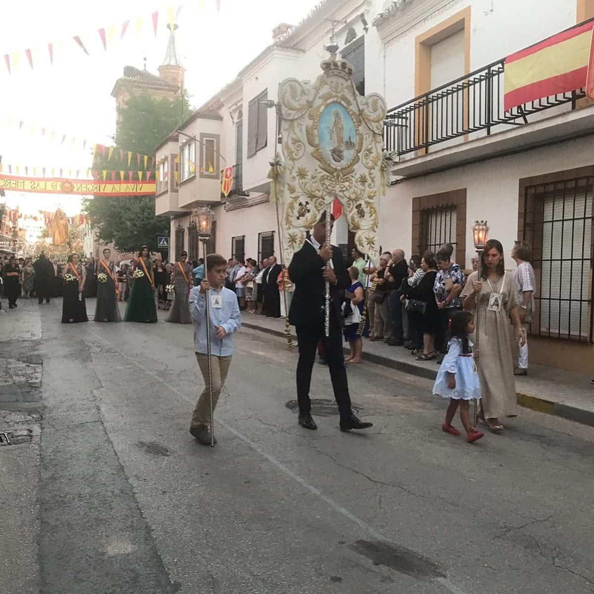 magna procesion feria fiestas 2019 herencia 7 - Magna procesión de nuestra Santísima Madre cierra la Feria y Fiestas herenciana