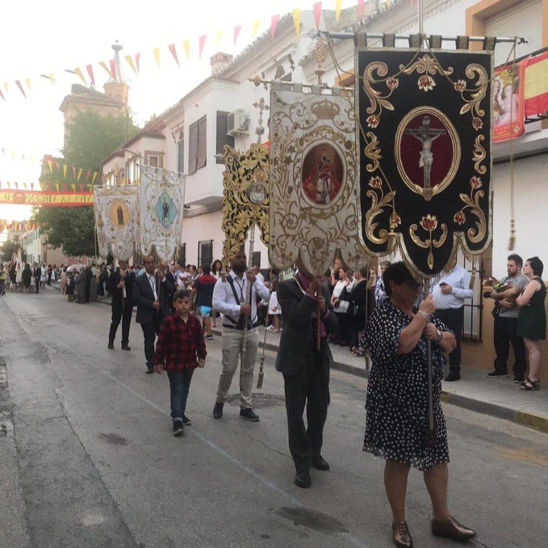magna procesion feria fiestas 2019 herencia 8 1068x1068 - Magna procesión de nuestra Santísima Madre cierra la Feria y Fiestas herenciana