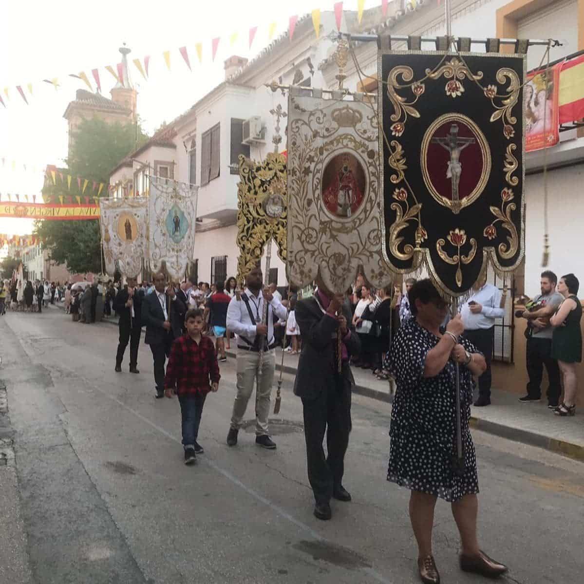 magna procesion feria fiestas 2019 herencia 8 - Magna procesión de nuestra Santísima Madre cierra la Feria y Fiestas herenciana