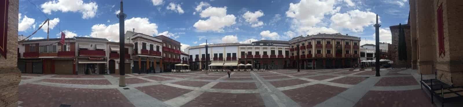 nueva plaza espana en herencia - Herencia para el programa Especial Fin de Año en Castilla-La Mancha