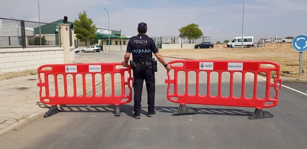 policia local herencia restriccion trafico feria 1068x518 - Información sobre el tráfico en Herencia con motivo de la Feria y Fiestas 2019
