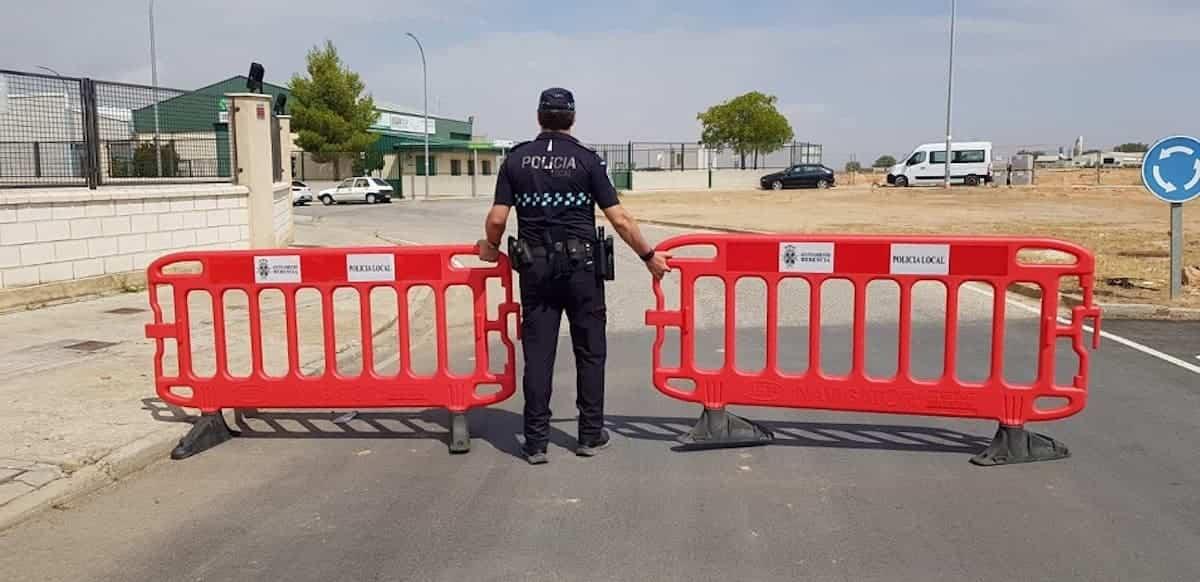 policia local herencia restriccion trafico feria - Información sobre el tráfico en Herencia con motivo de la Feria y Fiestas 2019