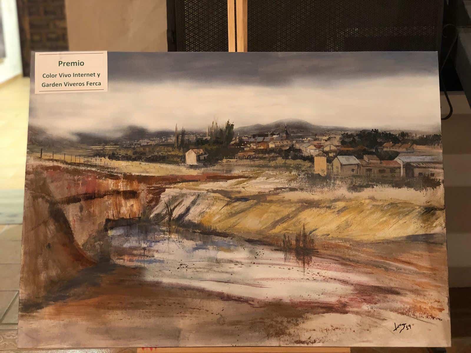 """premiados certamen pintura rapida 2019 herencia 1 - Celebrado el XIII Certamen Nacional de Pintura Rápida """"Villa de Herencia"""""""