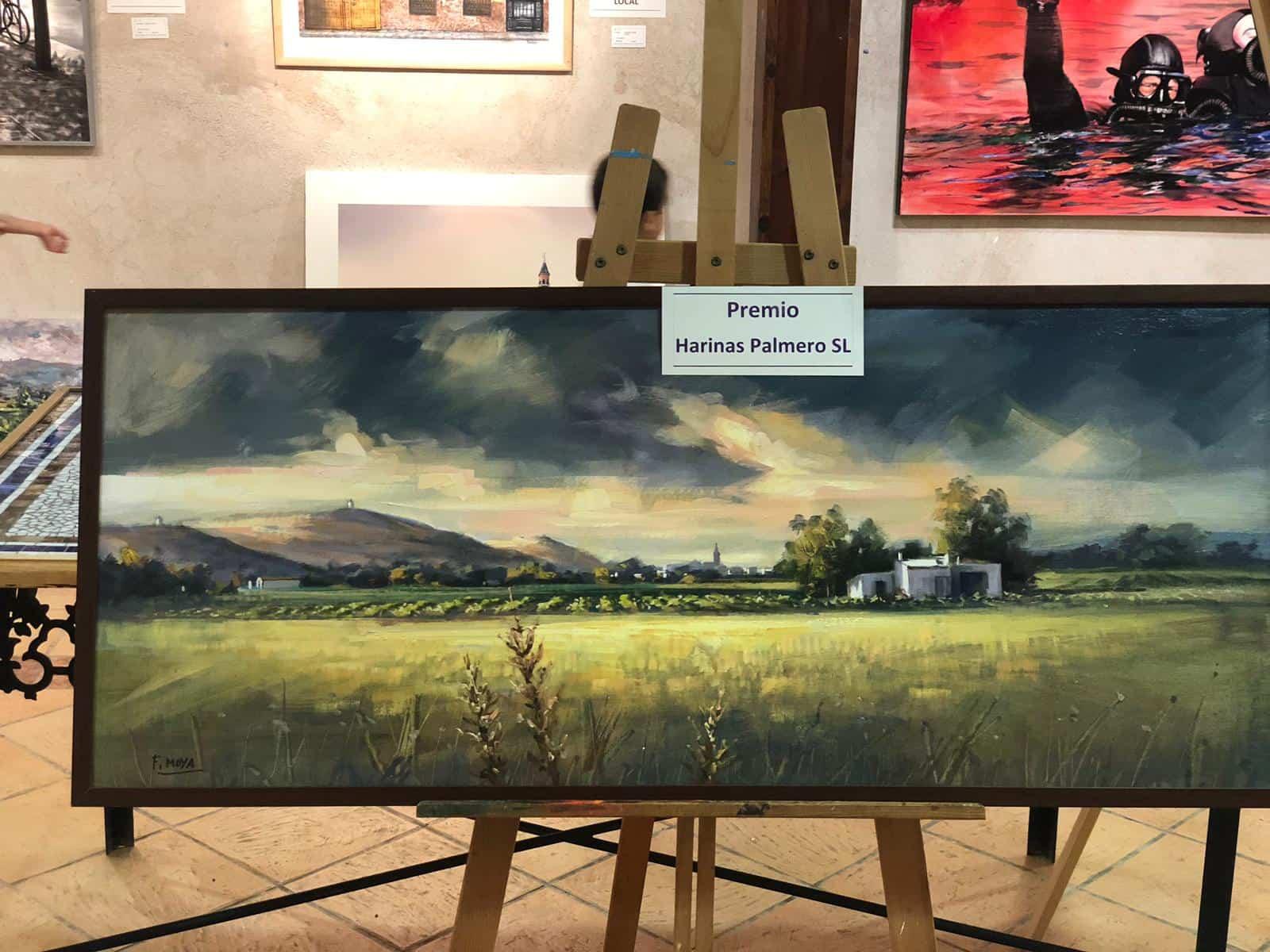 """premiados certamen pintura rapida 2019 herencia 4 - Celebrado el XIII Certamen Nacional de Pintura Rápida """"Villa de Herencia"""""""