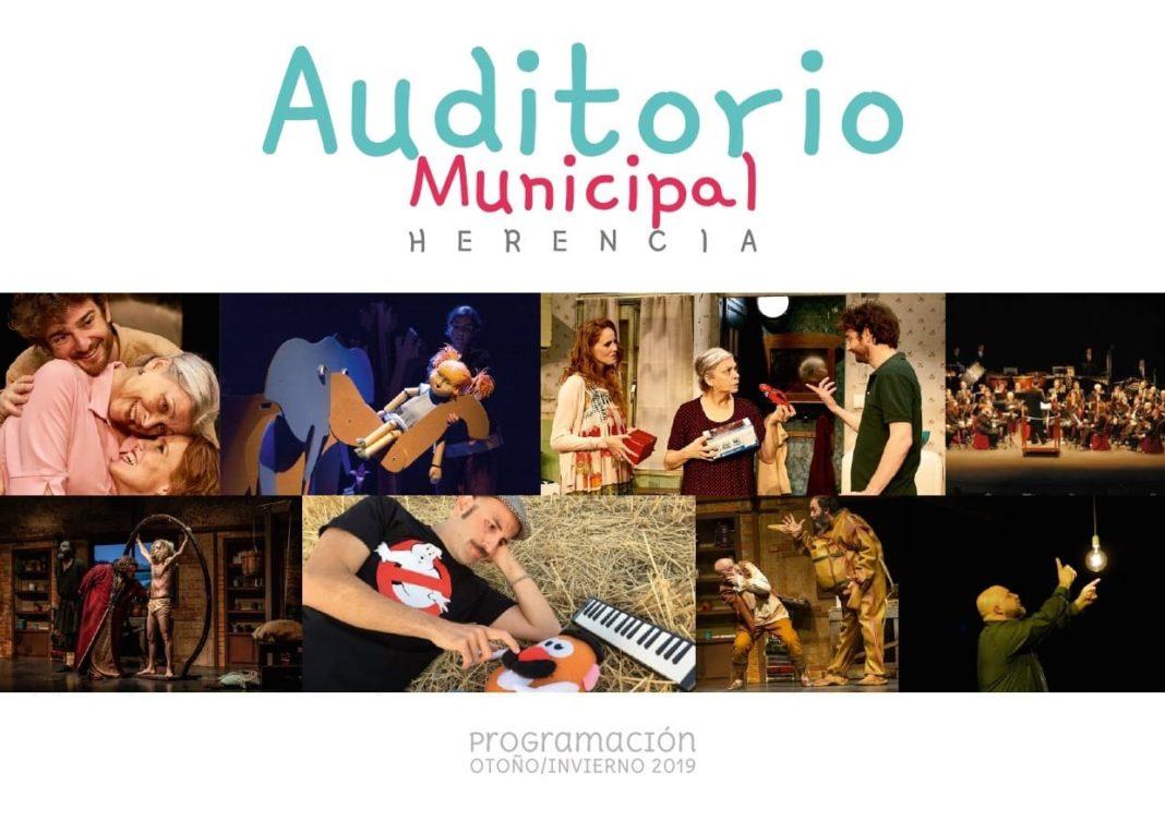 programacion cultura herencia 2019 1068x753 - Presentada la programación cultural de Herencia para la nueva temporada en el Auditorio Municipal