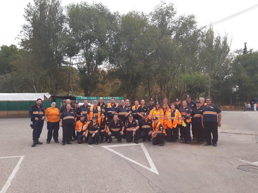 proteccion civil carrera popular 2019 1068x801 - Protección Civil de la región colaboró con la 43 Carrera Popular de Herencia