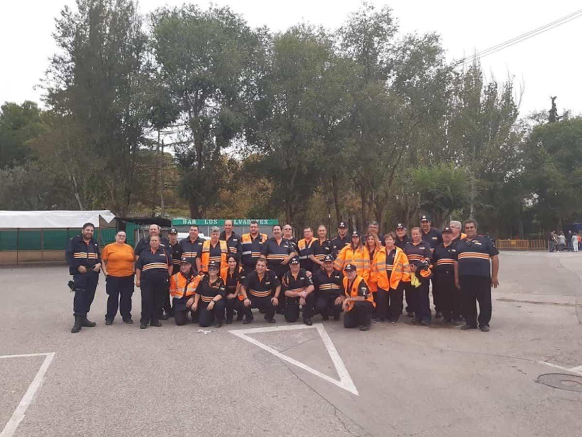 proteccion civil carrera popular 2019 - Protección Civil de la región colaboró con la 43 Carrera Popular de Herencia