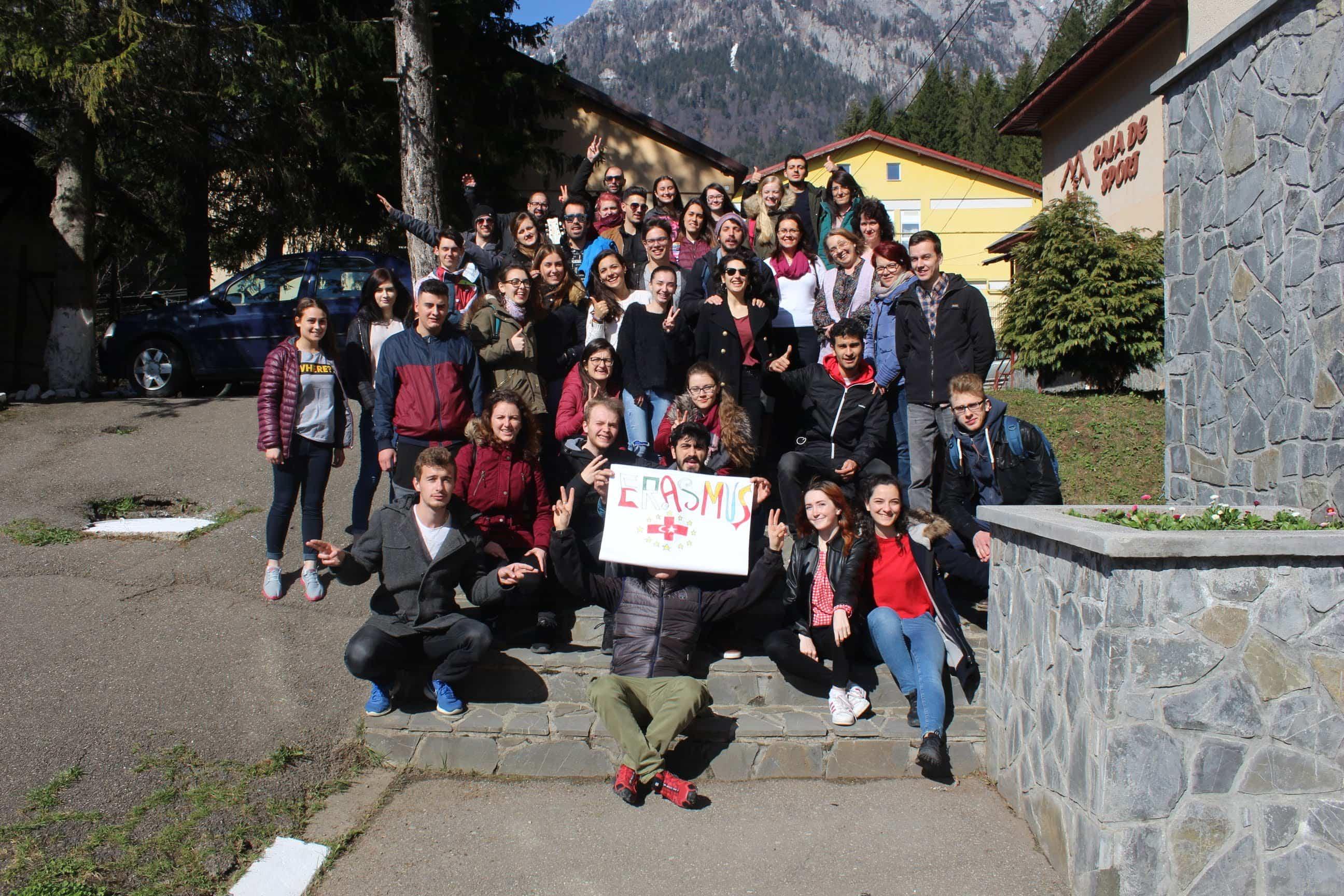 Las asociaciones locales El Uali Sahara y Aktive Kosmos en Rumanía 8