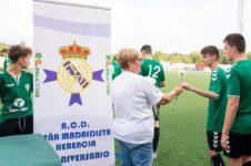 real madrid cadete A y Herencia CF 226x150 - El partido entre el Cadete A del Real Madrid y el Herencia Sub-17 contó con la presencia de Julen Guerrero