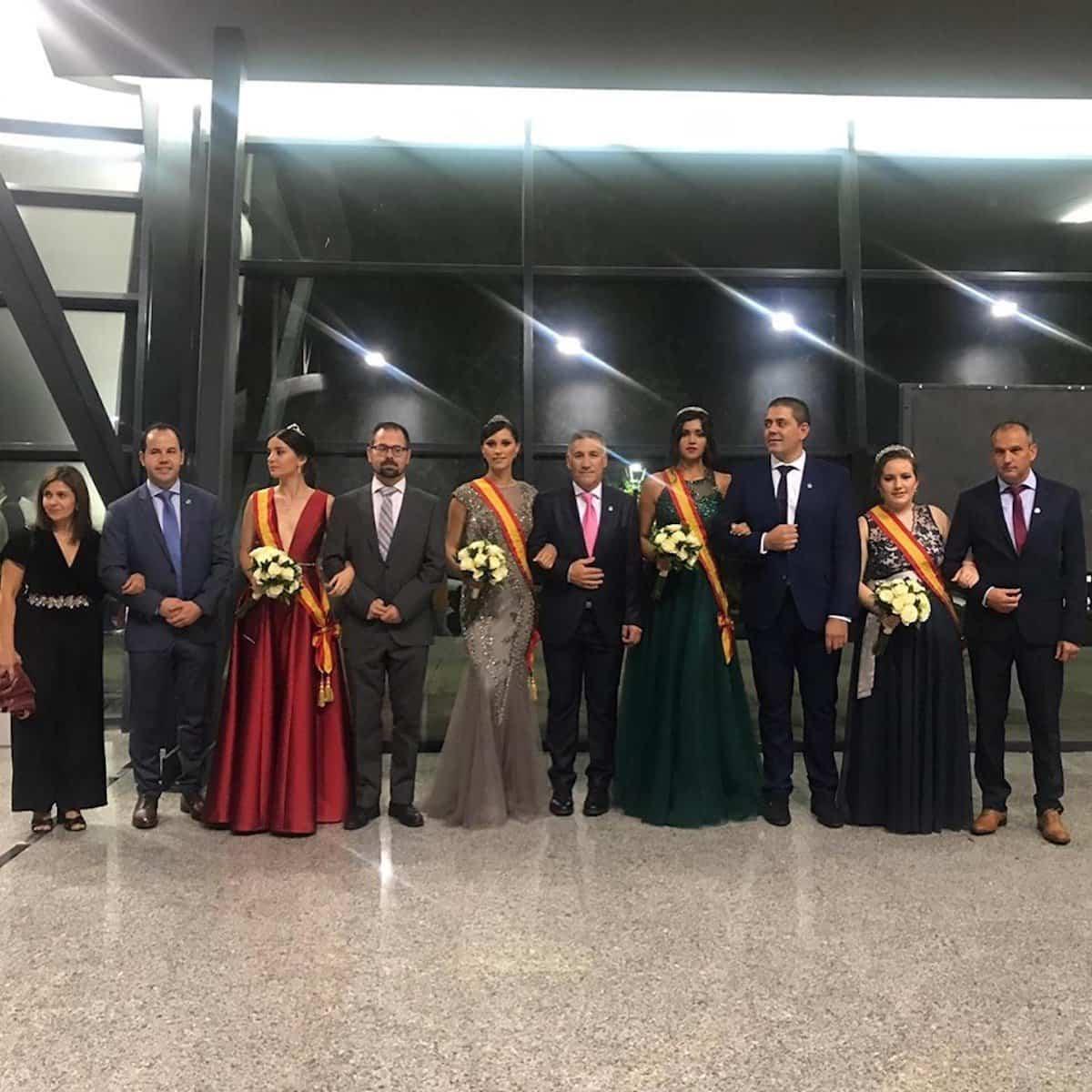 reina y damas feria fiestas 2019 herencia - Inauguración de la Feria y Fiestas 2019 de Herencia